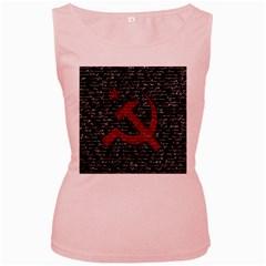 Communism  Women s Pink Tank Top