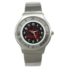 Communism  Stainless Steel Watch