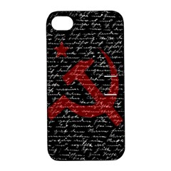 Communism  Apple iPhone 4/4S Hardshell Case with Stand