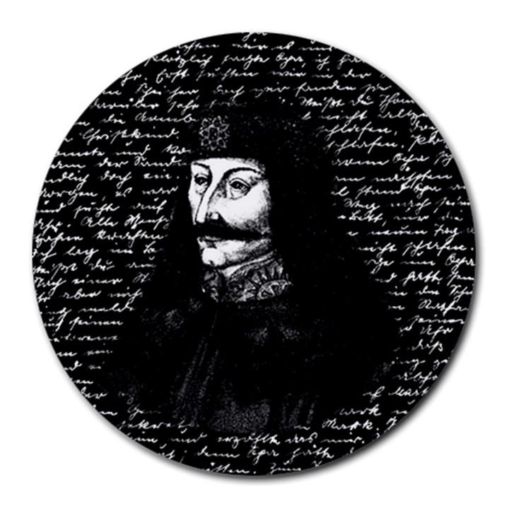 Count Vlad Dracula Round Mousepads