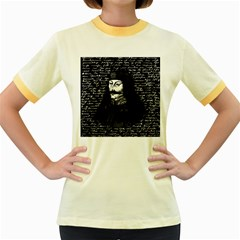 Count Vlad Dracula Women s Fitted Ringer T-Shirts