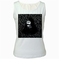 Count Vlad Dracula Women s White Tank Top