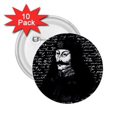 Count Vlad Dracula 2.25  Buttons (10 pack)