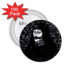 Count Vlad Dracula 2.25  Buttons (100 pack)