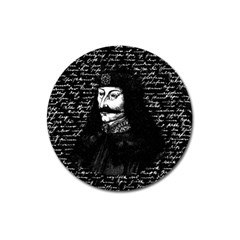 Count Vlad Dracula Magnet 3  (Round)