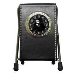 Count Vlad Dracula Pen Holder Desk Clocks