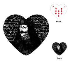 Count Vlad Dracula Playing Cards (Heart)
