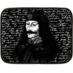 Count Vlad Dracula Fleece Blanket (mini)