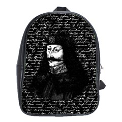 Count Vlad Dracula School Bags(Large)
