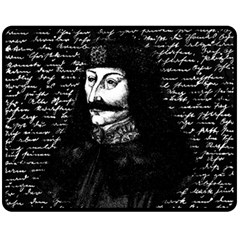 Count Vlad Dracula Fleece Blanket (Medium)