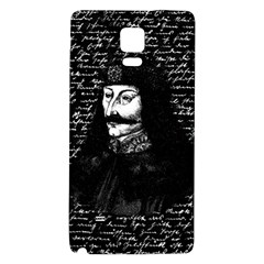 Count Vlad Dracula Galaxy Note 4 Back Case