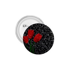 Red tulips 1.75  Buttons