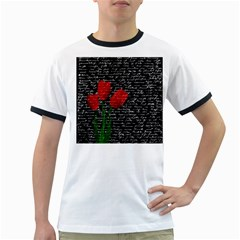 Red tulips Ringer T-Shirts