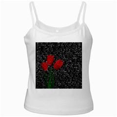 Red tulips Ladies Camisoles