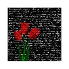 Red tulips Acrylic Tangram Puzzle (6  x 6 )