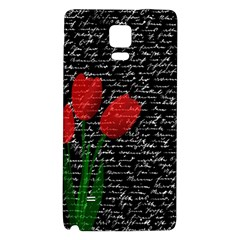 Red tulips Galaxy Note 4 Back Case