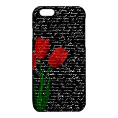 Red tulips iPhone 6/6S TPU Case