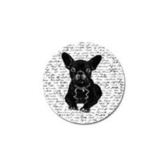 Cute bulldog Golf Ball Marker (10 pack)