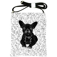 Cute bulldog Shoulder Sling Bags