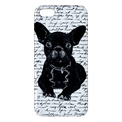 Cute bulldog iPhone 5S/ SE Premium Hardshell Case