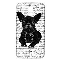 Cute bulldog Samsung Galaxy S5 Back Case (White)