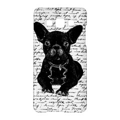 Cute bulldog Samsung Galaxy A5 Hardshell Case
