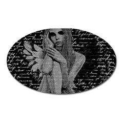 Angel Oval Magnet