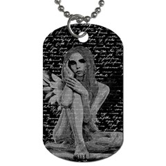 Angel Dog Tag (Two Sides)