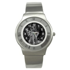 Angel Stainless Steel Watch