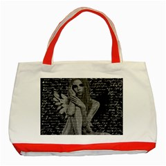Angel Classic Tote Bag (Red)