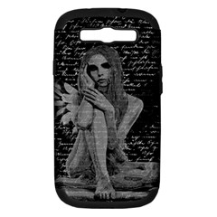 Angel Samsung Galaxy S Iii Hardshell Case (pc+silicone)