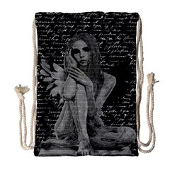 Angel Drawstring Bag (Large)