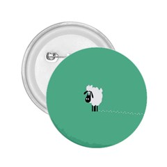 Sheep Trails Curly Minimalism 2.25  Buttons