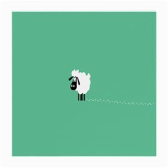 Sheep Trails Curly Minimalism Medium Glasses Cloth