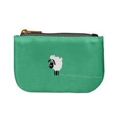 Sheep Trails Curly Minimalism Mini Coin Purses