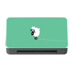 Sheep Trails Curly Minimalism Memory Card Reader with CF