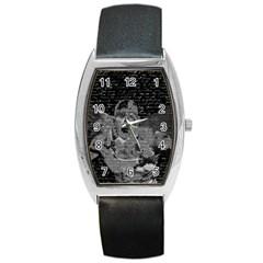 Angel  Barrel Style Metal Watch