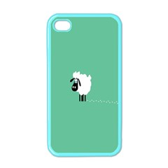 Sheep Trails Curly Minimalism Apple iPhone 4 Case (Color)