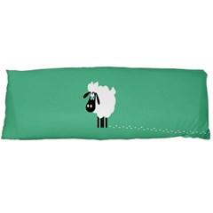 Sheep Trails Curly Minimalism Body Pillow Case (dakimakura)