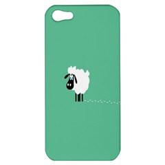 Sheep Trails Curly Minimalism Apple iPhone 5 Hardshell Case