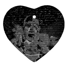 Angel  Heart Ornament (two Sides)