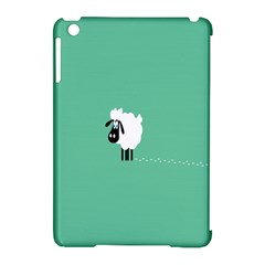 Sheep Trails Curly Minimalism Apple iPad Mini Hardshell Case (Compatible with Smart Cover)