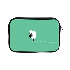 Sheep Trails Curly Minimalism Apple iPad Mini Zipper Cases