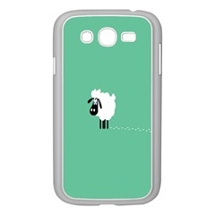 Sheep Trails Curly Minimalism Samsung Galaxy Grand DUOS I9082 Case (White)