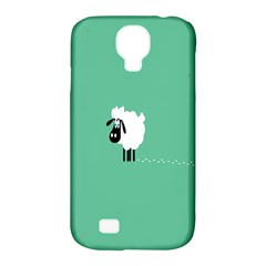 Sheep Trails Curly Minimalism Samsung Galaxy S4 Classic Hardshell Case (PC+Silicone)
