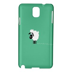 Sheep Trails Curly Minimalism Samsung Galaxy Note 3 N9005 Hardshell Case