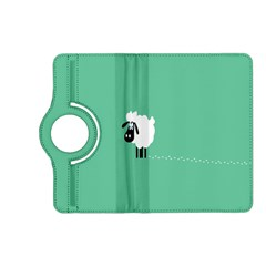 Sheep Trails Curly Minimalism Kindle Fire HD (2013) Flip 360 Case