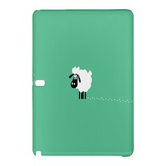 Sheep Trails Curly Minimalism Samsung Galaxy Tab Pro 10 1 Hardshell Case