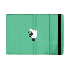 Sheep Trails Curly Minimalism Ipad Mini 2 Flip Cases