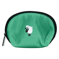 Sheep Trails Curly Minimalism Accessory Pouches (Medium)